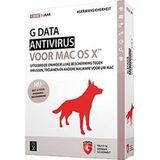 G Data Antivirus for MAC 1-MAC 1 year