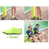 Erg conforatabele en flexibele Waterschoenen voor Dames en Heren Outdoor Strand Zwemmen Aqua Sokken Sneldrogende Blootsvoets Schoenen Surfen Yoga Zwembad - Groen - maat 42-43