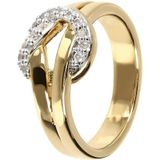 Knot ring with pave WSBZ01451Y.W