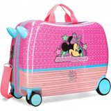 Minnie Mouse rol zit koffer reiskoffer Pink Vibes