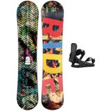 Ride Machete Jr 130 + K1 S 2021 Snowboard Set