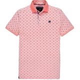 Vanguard Short Sleeve Pique Polo Rose