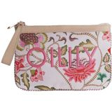 Oilily Royal Sits Flat Pouch Oatmeal Toilettas