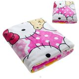 Hello Kitty Fleece Kinderdeken 150x220 cm - roze
