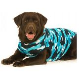 Suitical Recovery Suit Hond - XXL - Blauw Camouflage