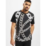 Versace Jeans t-shirt / Chain in blauw