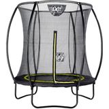 Exit Trampoline Silhouette 183 Black + Safety Net