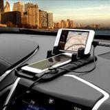Alessi Soft Siliconen Magnetische Adsorptie Telefoonstandwagen Oplaadhouder voor iPhone Samsung HTC