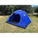 KOEPELTENT 4 PERSOONS - CANVAS 600D 240X210X130CM - BENSON