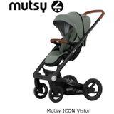 Mutsy Icon Zwart Frame- Jade Green Incl. Reiswieg