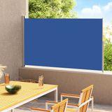 vidaXL Tuinscherm uittrekbaar 200x300 cm blauw