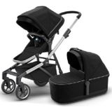 THULE Combi-kinderwagen Sleek Midnight Black