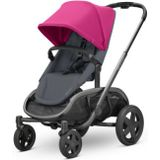 Quinny Kinderwagen Hubb Pink on Graphite