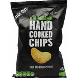 Trafo Chips handcooked zout en peper 40g