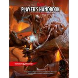 Dungeons and Dragons Player's Handbook unisex Rollenspel multicolored - officieel Marchandise!