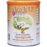 Opvolgmelk van geiten 2 Inhoud: 900g Merk: Nannycare
