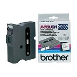 Brother TX-251 tape zwart op wit 24mm x 8m (origineel)