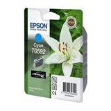 Epson T0592 inkt cartridge cyaan (origineel)
