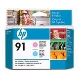 HP C9462A nr. 91 printkop licht magenta / licht cyaan (origineel)