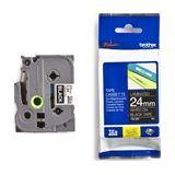 Brother TZe-355 tape wit op zwart 24mm x 8m (origineel)