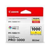 Canon PFI-1000Y inkt cartridge geel (origineel)