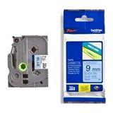 Brother TZe-521 tape zwart op blauw 9mm x 8m (origineel)