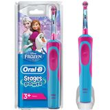Oral-B Stages Power Kids Elektrische Tandenborstel Disney Frozen Paars/Blauw