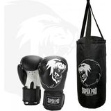 Super Pro Combat Gear Bokszakset Junior Zwart/Wit