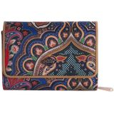 Oilily Paisley S Wallet royal blue Dames portemonnee