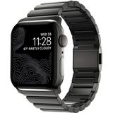 Nomad stainless steel Apple Watch 42 / 44 mm graphite
