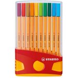 Stabilo fineliner Point 88 Color Parade