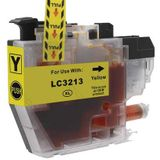 Compatible voor Brother LC-3213Y inkt cartridge geel - inktknaller