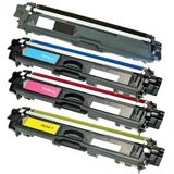 Compatible Brother TN242 BK - TN246 CMY toner set