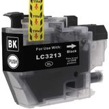 Compatible voor Brother LC-3213BK inkt cartridge zwart - inktknaller