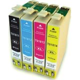 Compatible - Epson T1816 (18XL) MULTI pack 4 inktcartridges HC