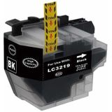 Compatible voor Brother LC-3219 zwart inkt cartridge - inktknaller