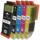 Compatible Epson T3357 - T33XL multipack 5 cartridges