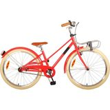 Volare Melody Kinderfiets - Meisjes - 24 inch - Pastel Rood - Prime Collection
