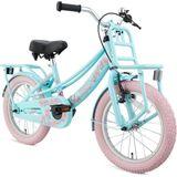 Supersuper Lola Kinderfiets - Meisjes - 16 inch - Mint / Roze