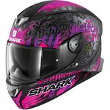 Shark Skwal 2.2 Switch Riders 2 - Zwart / Violet - Small