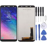 incell LCD Screen and Digitizer Full Assembly (Half Screen) for Galaxy A6+ (2018) A605G(Black)