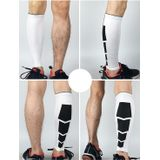 2 PCS Sports High Elastic Outdoors Climbing Basketball Knee Support Guards Size: XL (White)