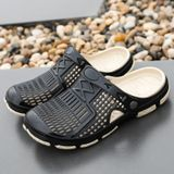 Fashion Trend Comfortable and Breathable Sandals Slippers for Men (Color:Black Size:41)