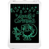 11 inch LCD Monochrome Screen Rough handwriting Writing Tablet High Brightness Handwriting Drawing Sketching Graffiti Scribble Doodle Board for Home Office Writing Drawing(White)