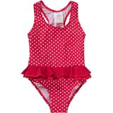 PLAYSHOES Badpak 'PUNKTE' rood / wit