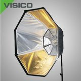 Visico SB-036 Octabox ø 120cm VC series with reversible Silver/Golden inside
