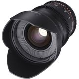 Samyang 24mm T1.5 VDSLR ED AS IF UMC II Canon EF-M-mount objectief