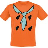 The Flintstones - Fred´s Outfit - T-shirt - oranje - Large Exclusief!
