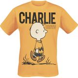 Peanuts - Charlie Brown - T-shirt - geel