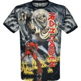 Iron Maiden - Amplified Collection - Number Of The Beast - Trikot - zwart